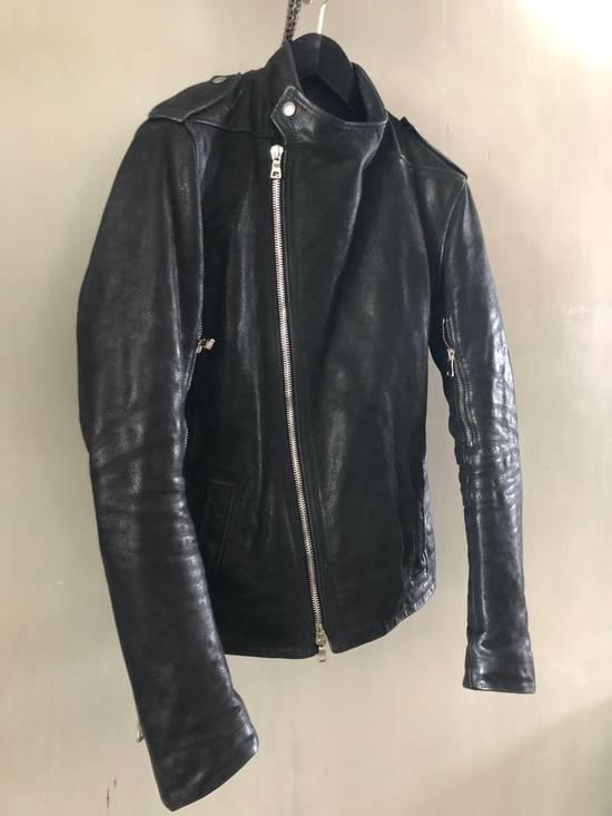 Balmain Biker leather jacket by Chistophe D for balmain Size US M / EU 48-50 / 2 - 11