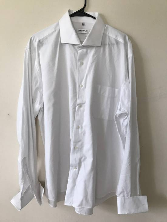 Balmain White Button Up Size US XXL / EU 58 / 5
