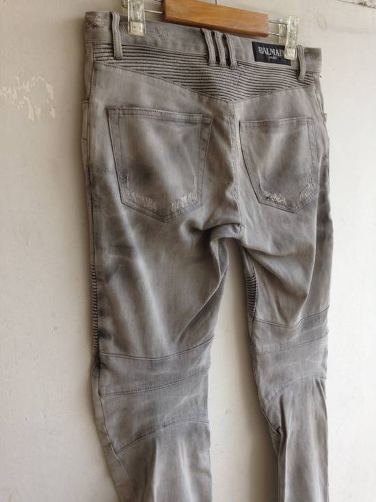 Balmain Balmain Biker Jeans Size US 32 / EU 48 - 13