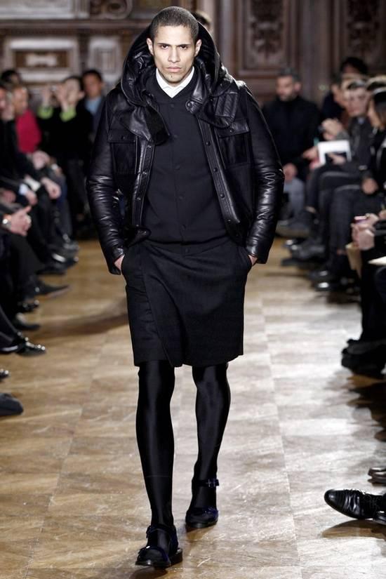 Givenchy FW09 LEATHER HOODED PADDED JACKET Size US S / EU 44-46 / 1 - 1
