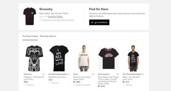 "Givenchy ""War of Love"" Pocket T-shirt Size US S / EU 44-46 / 1 - 8"