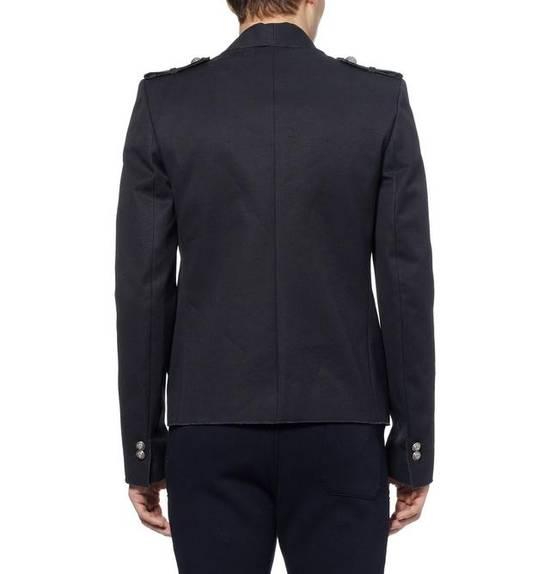 Balmain Raw Cotton Military Blazer / Jacket Size US S / EU 44-46 / 1 - 4