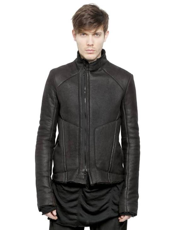 Julius High Neck Shearling Jacket Size US S / EU 44-46 / 1 - 2