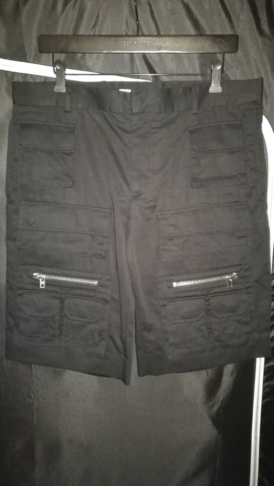 Givenchy Cargo Bermuda Shorts Black Size US 36 / EU 52