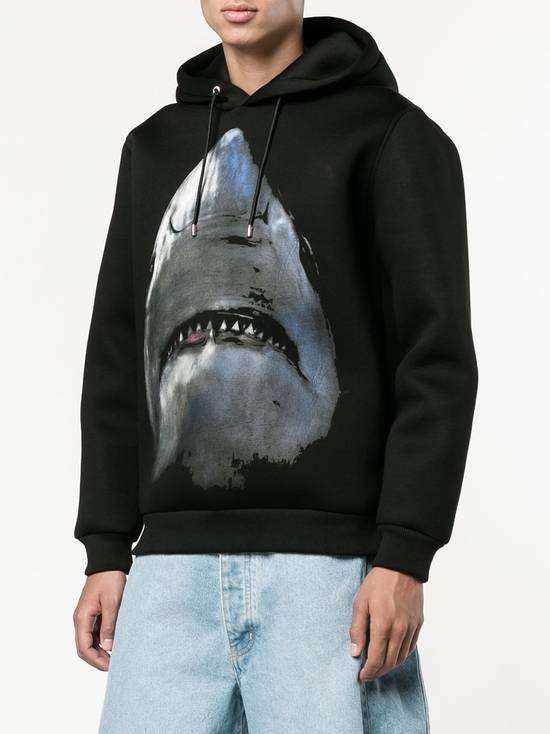 Givenchy $1350 Givenchy Shark Print Rottweiler Stars Neoprene Hoodie size XS Size US XS / EU 42 / 0 - 2