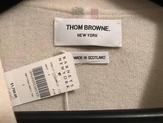 Thom Browne Cricket-Striped Cashmere Cardigan NEW Size US XL / EU 56 / 4 - 8