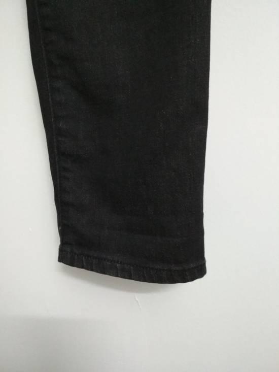 Balmain Authentic BALMAIN Dark Grey Slim Biker Stretch Denim Jeans Made in Italy Size US 32 / EU 48 - 8
