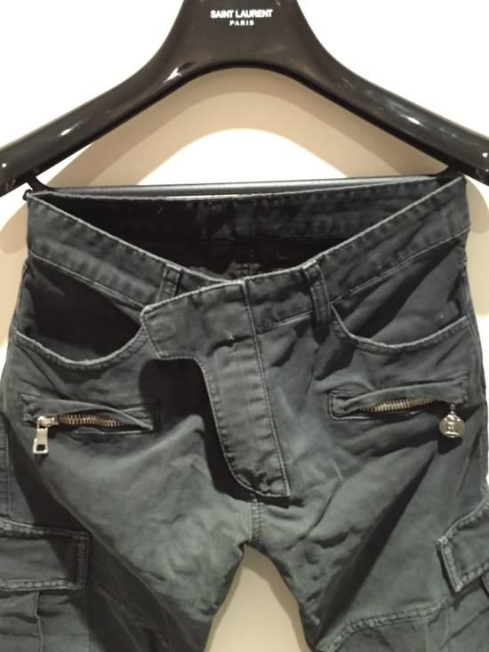 Balmain Military Biker Jeans Size US 30 / EU 46 - 1