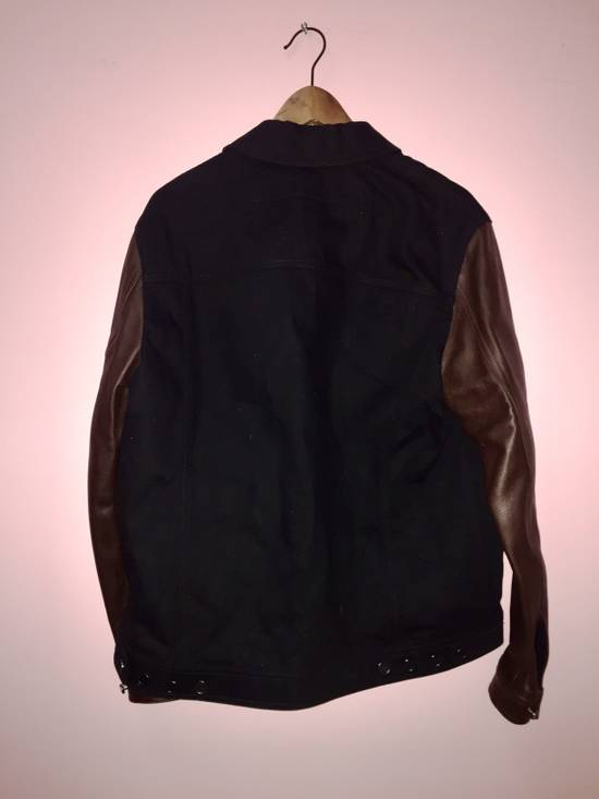 Givenchy Denim and Leather Jacket Size US L / EU 52-54 / 3 - 2