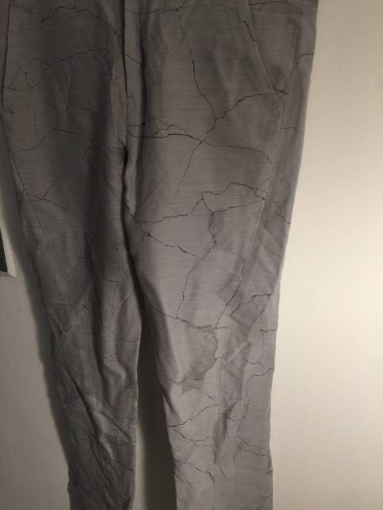 Julius MA JULIUS RUNWAY SAMPLE MARBLE PRINT TROUSERS VERY RARE Size US 28 / EU 44 - 4