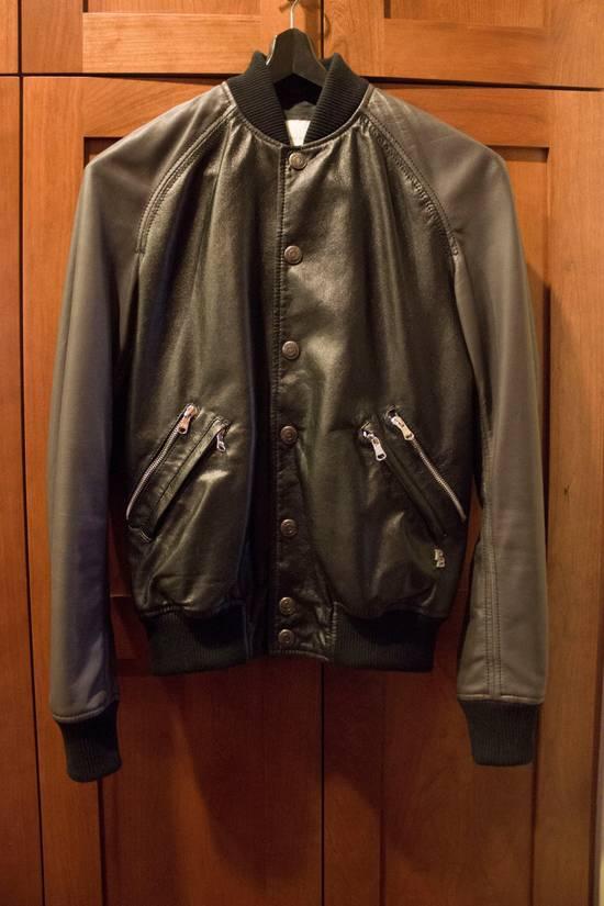 Balmain Leather Bomber Size US S / EU 44-46 / 1