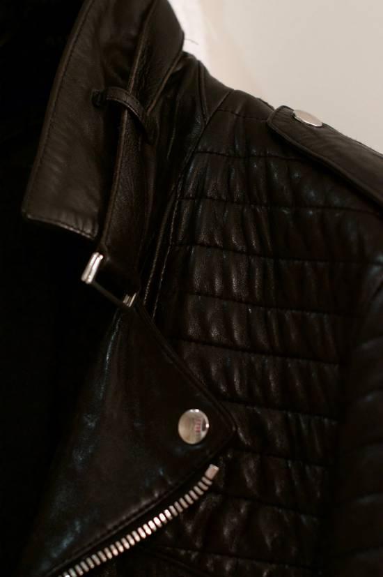 Balmain RARE! Lambskin Leather Biker Jacket Size US L / EU 52-54 / 3 - 3