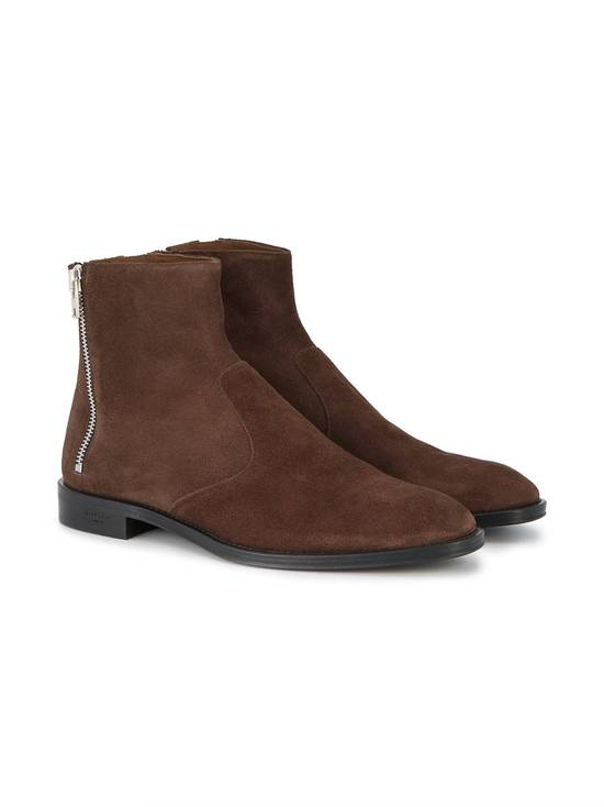Givenchy Brown Suede triple zip Chelsea boots Size US 8.5 / EU 41-42
