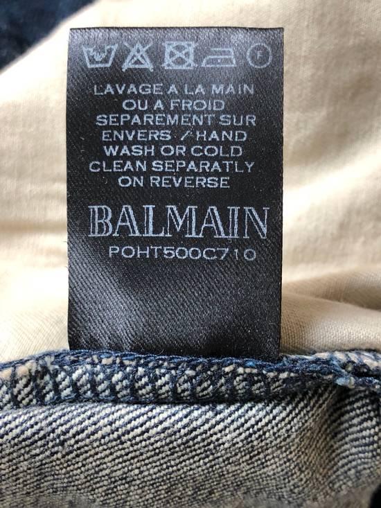 Balmain Balmain Straight Biker Jeans Size US 30 / EU 46 - 9