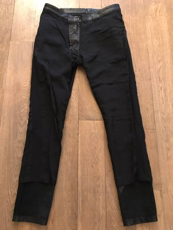 Julius Leather And Denim Pants Size US 32 / EU 48 - 4