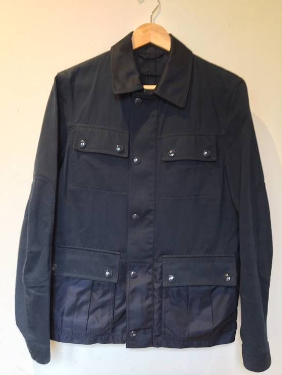 Givenchy Rare Two Tone Navy Blue Givenchy Jacket Size US S / EU 44-46 / 1