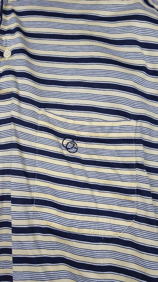 Givenchy Vintage GIVENCHY GENTLEMAN PARIS Stripes Polo Shirt Size US S / EU 44-46 / 1 - 3