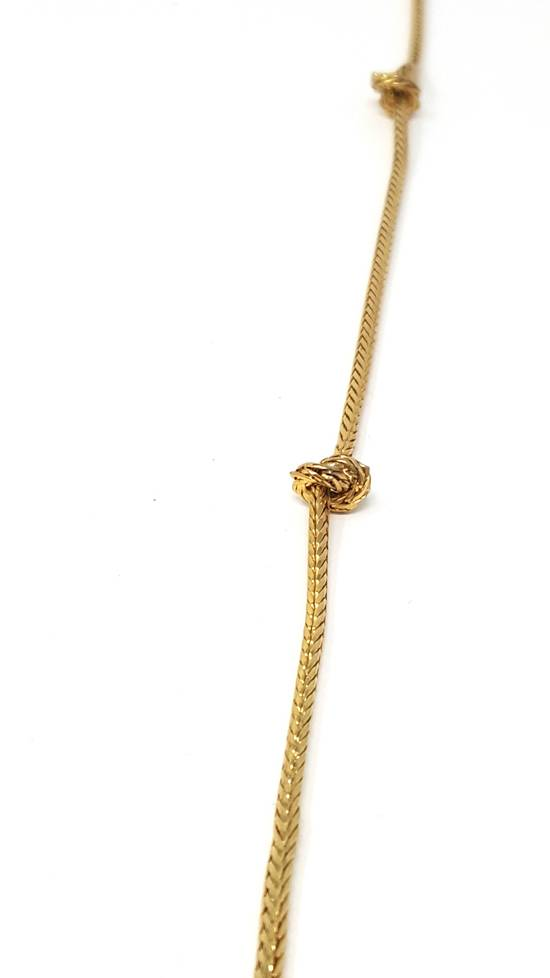 Givenchy Barbed wire gold plated necklace Size ONE SIZE - 6