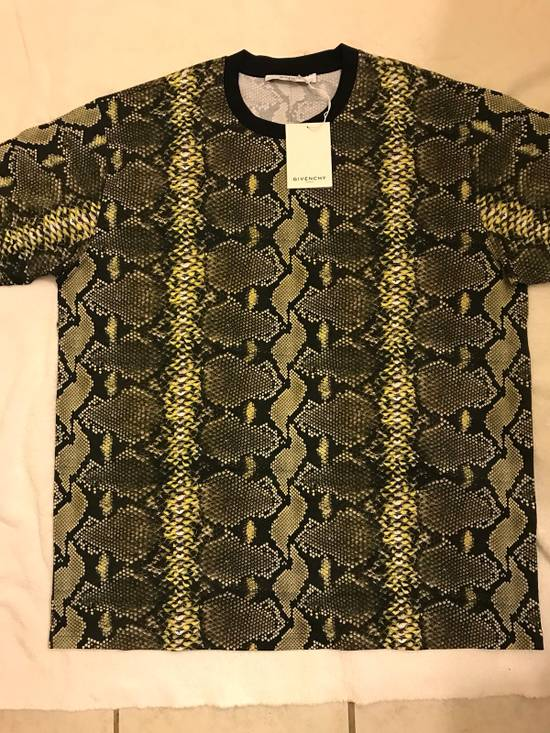 Givenchy Snakeskin Print Cotton T-Shirt Size US XL / EU 56 / 4 - 9