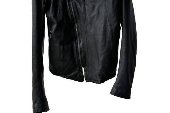Julius JULIUS _7 ma high neck black lamb biker jacket slim fit Japan Size US S / EU 44-46 / 1 - 12