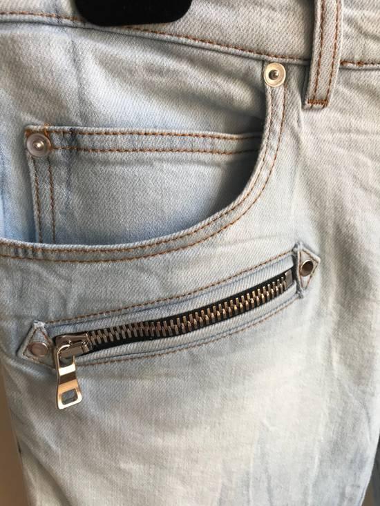 Balmain Biker Jeans SS18 Size US 32 / EU 48 - 2