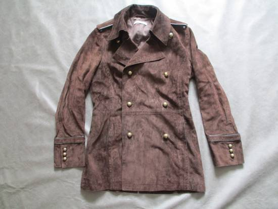 Saint Laurent Paris YSL by Tom Ford suede officer coat Size US S / EU 44-46 / 1