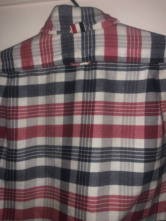 Thom Browne Long Sleeve Red White And Blue Shirt Size US S / EU 44-46 / 1 - 3