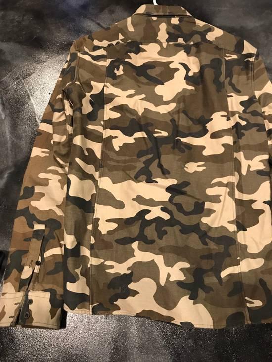 Balmain BALMAIN PARIS Camo Dress Shirt Size US L / EU 52-54 / 3 - 4