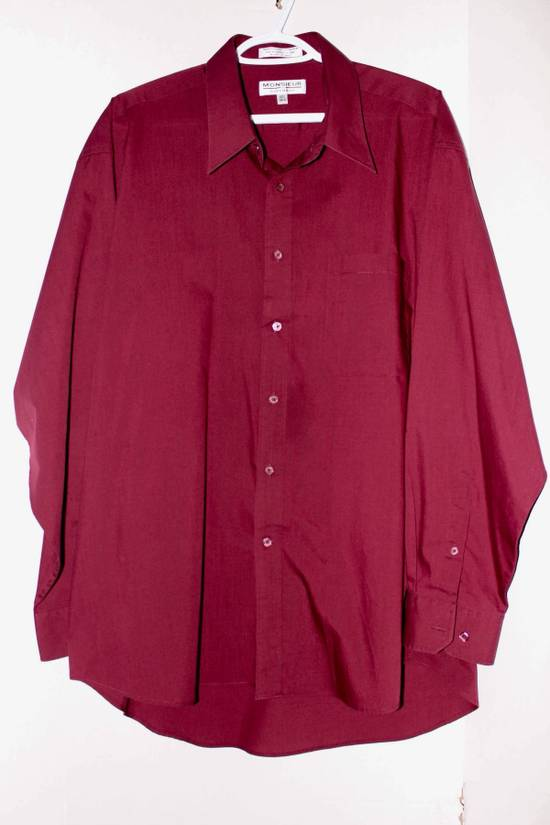 Givenchy Monsieur by Givenchy Burgundy button up shirt. Size US XL / EU 56 / 4