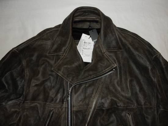Julius Julius _ 7 oversized Biker Leather Jacket Size US L / EU 52-54 / 3 - 1