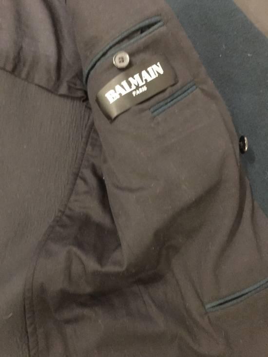Balmain Badge-embellished Wool Military Jacket Size US M / EU 48-50 / 2 - 5