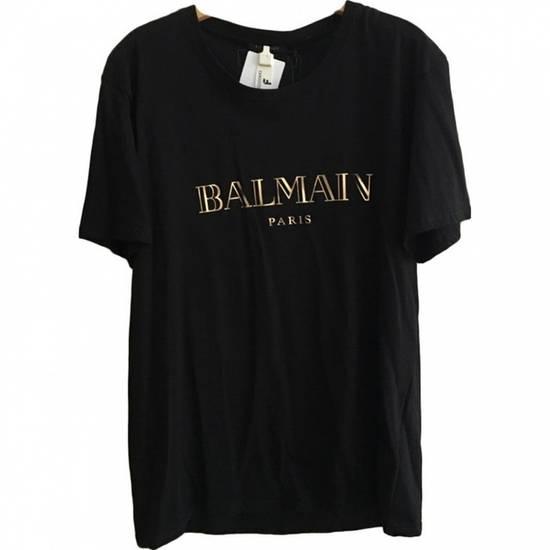 Balmain Balmain Gold/Black Tee Size US XL / EU 56 / 4