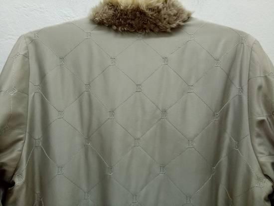 Balmain Vintage Balmain Paris Fur and Silk Reversible Jacket RARE Design Size US L / EU 52-54 / 3 - 10