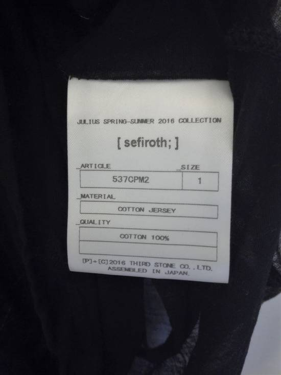 Julius SS16 sheer cotton long sleeve Size US S / EU 44-46 / 1 - 5
