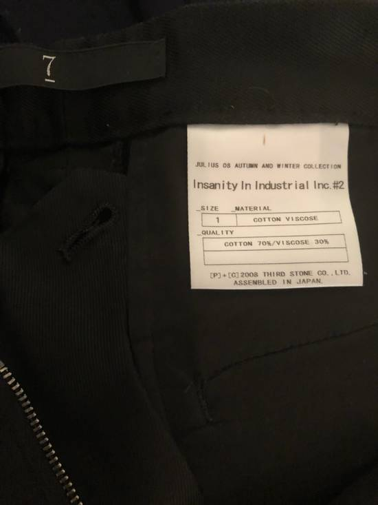 Julius FINAL SALE: NEW! Aw08 Insanity in Industrial Combat Cargo Size US 30 / EU 46 - 8