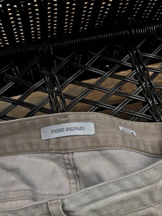 Balmain Balmain White Paint Wash Jeans Size US 29 - 3