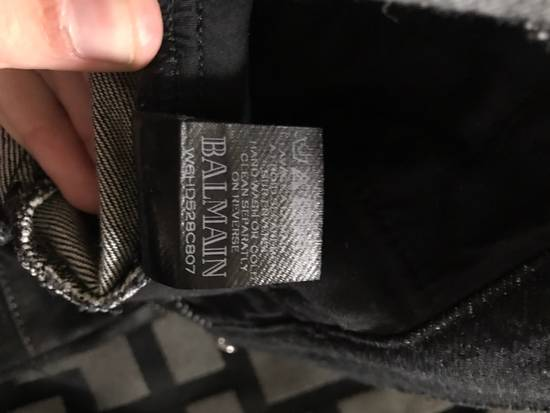 Balmain !Need Gone! Balmain Bikers Waxed Fits 29-31 Size US 29 - 5