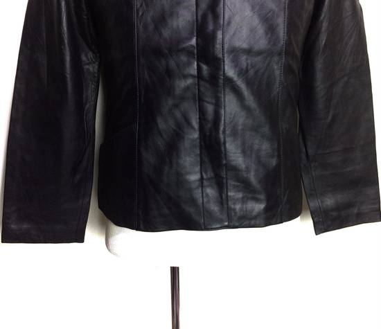 Balmain BALMAIN Paris Black Leather Biker Rockers Rockabilly Cafe Racer Jacket Size US M / EU 48-50 / 2 - 2