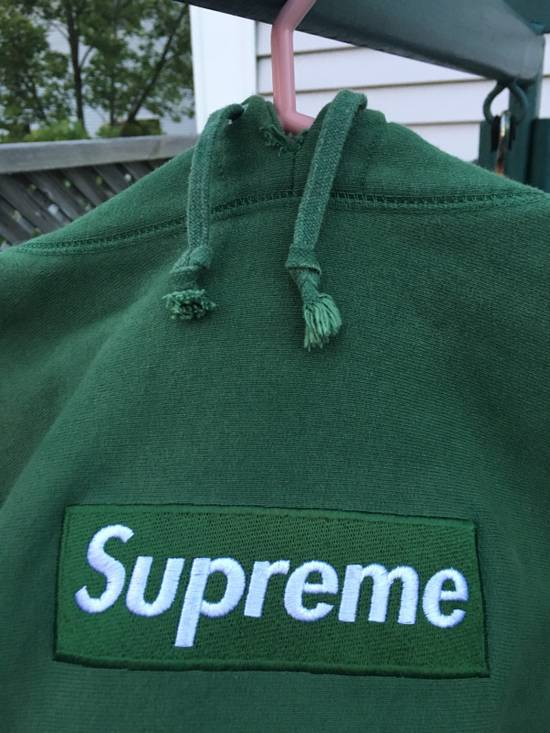 f98a7d898ff3 ... Supreme Forest Green Box Logo Hoodie 1999 Size US XL   EU 56   4 ...
