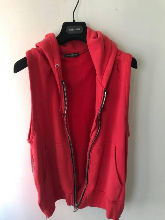 Balmain Balmain Sleeveless Biker Hoodie Size US XS / EU 42 / 0