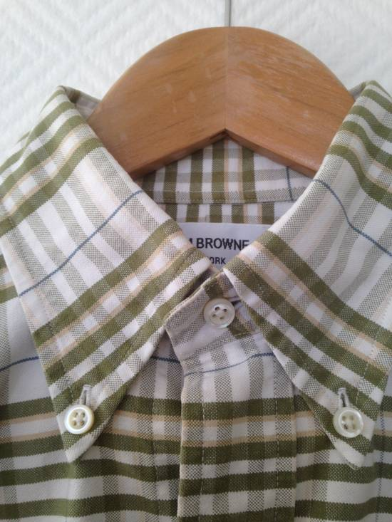 Thom Browne Thom Browne Plaid Oxford Shirt Size 1 Size US S / EU 44-46 / 1 - 1