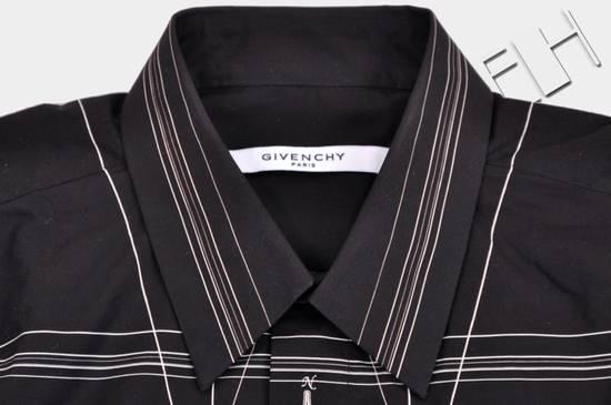 Givenchy 1050$ Black Cotton Geometric Cobra Print Shirt sz 38 Size US S / EU 44-46 / 1 - 4