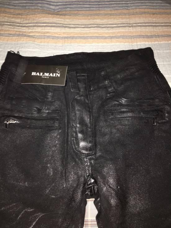 Balmain Biker Jeans Size US 32 / EU 48