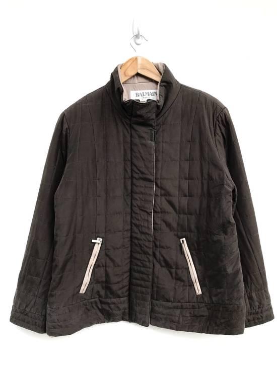 Balmain Balmain Paris Quilted Zipper Jacket Size US S / EU 44-46 / 1
