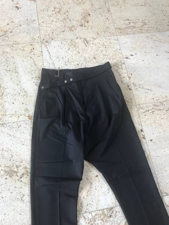 Givenchy Belted & Pleated Casual Suit Pants In Black Size US 28 / EU 44 - 4