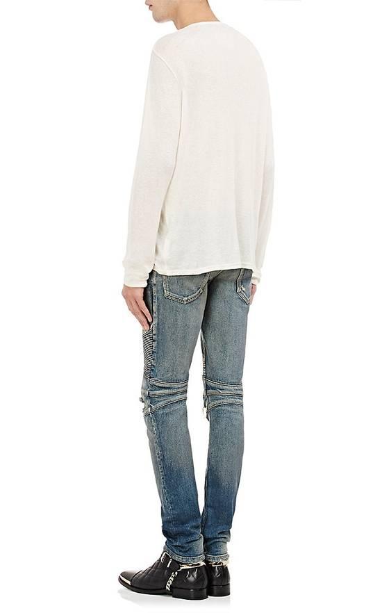 Balmain Size Small - Cashmere Blend Lace Front Shirt - FW16 - $625 Retail Size US S / EU 44-46 / 1 - 3