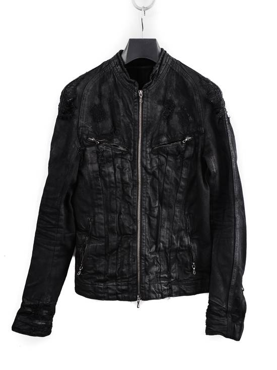 Julius NOS 09 F/W Destroyed Waxed Jacket Size US S / EU 44-46 / 1