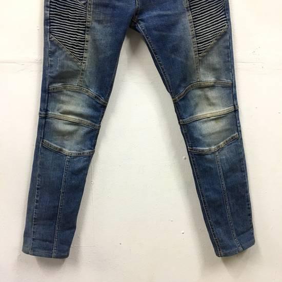Balmain Balmain Biker Skinny Denim Pants Size US 34 / EU 50 - 2