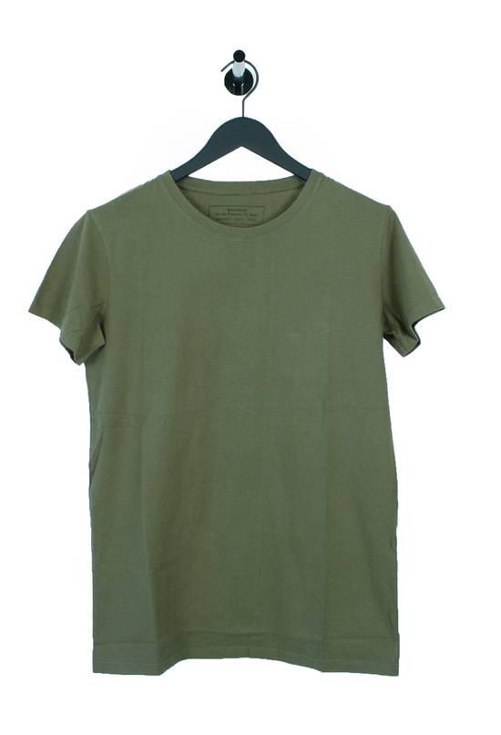 Balmain Original Balmain Distressed Elements Khaki Men T-Shirt in size L Size US L / EU 52-54 / 3