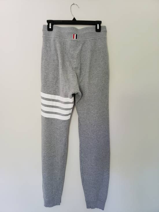 Thom Browne LAST DROP Grey 4-Stripe Engineered Joggers Size US 29 - 2